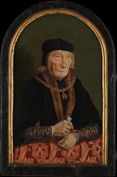 John III of Egmont or Egmond (1438-1516) Son of William II of Egmont and Walburga van Meurs. Husband to Magdalena van Werdenburg. By North Netherlandish Painter, after 1516