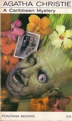 Agatha Christie A CARIBBEAN MYSTERY<BR>  . .Fontana rpt.1968 front cover image
