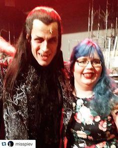 #Repost @misspiev with @repostapp. ・・・ Minä ja kreivi von Krolock. #tanzdervampire #vampyyrientanssi
