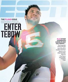 How can you not love Tebow?
