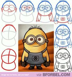 How to Draw a Minion…