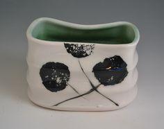 Porcelain Vessel by Amy Manson Pottery