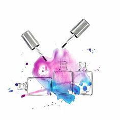 Color splash . . . . #illustration #fashionillustration #fashion #sandrasuy #colours #colour #splash #illustrator#monday #nailcolor #drawing