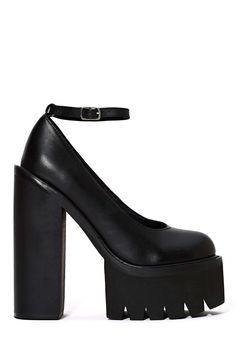 Jeffrey Campbell Scully 2 Platform - Black | Shop Shoes at Nasty Gal