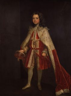 """William Augustus, Duke of Cumberland by Charles Jervas Prince William 26 April 1721  – 31 October 1765 was a younger son of George II  and Caroline of Ansbach, and Duke of Cumberland from 1726. He is generally best remembered for his role in putting down the Jacobite Rising at the Battle of Culloden in 1746, and as such is also known as """"Butcher"""" Cumberland. After Culloden he switched his attentions to politics and horse-racing."""