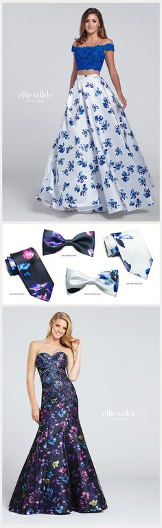 Ellie Wilde ties to match your prom dress!