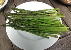 NJ grown asparagus - grilled