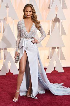 f638b9d6951b Chrissy Teigen - Oscars 2015 Oscar Fashion
