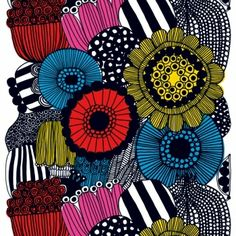 marimekko wall hanging in my living room... incorporating this color palette has been fun/difficult