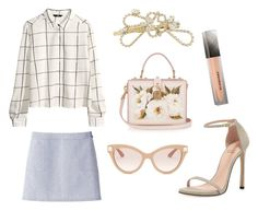 """""""werk"""" by beautyoftherain ❤ liked on Polyvore featuring H&M, Stuart Weitzman, A.P.C., Dolce&Gabbana, Burberry and Valentino"""