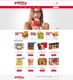 Popcorn Online Store - WooCommerce Theme