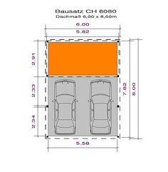 Carport - Bausatz