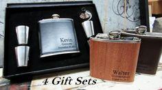 Set of 4 Unique Wedding Gift Ideas // by weddingpartygifts on Etsy