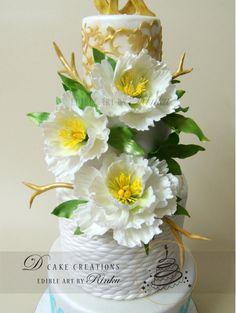 Wedding Cake- Edible Art by Rinku