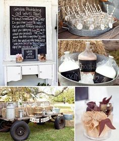 Milk and Cookies Gender Reveal Party with Such Cute Ideas via Kara's Party Ideas Kara Allen KarasPartyIdeas.com #RusticParty #GenderReveal #...