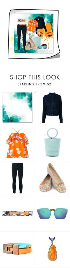 """Before I changed my mind"" by kelly-floramoon-legg ❤ liked on Polyvore featuring Nobody Denim, MSGM, Simon Miller, MEHER KAKALIA, Dolce&Gabbana and fashionset"