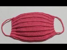 Korono virüsünden korunmak için örgü maske yapılışı - YouTube Crochet Mask, Crochet Faces, Easy Crochet, Free Crochet, Knit Crochet, Baby Knitting Patterns, Sewing Patterns, Crochet Patterns, Coron