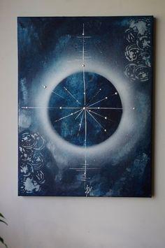 """""""Epicentre"""" - Peinture abstraite sur toile"""