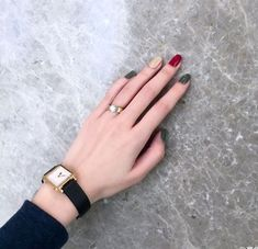 Beautiful nail art designs that are just too cute to resist. It's time to try out something new with your nail art. Korean Nail Art, Korean Nails, Pretty Nail Art, Beautiful Nail Art, Trendy Nails, Cute Nails, Hair And Nails, My Nails, Nail Arts