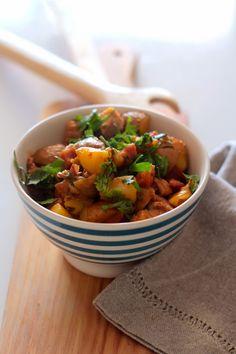 As Minhas Receitas: Tachinho de Carne de Porco, Chouriço e Batatas