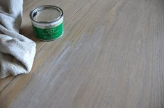Briwax Liming Wax- Amazing product that gives a white washed/chalky pickled finish to wood.