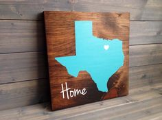 Pick Colors, Texas Custom Wood Sign, Texas State Sign, Stained and Hand Painted, Texas decor, Texas sign, Texas art, Texas Guestbook by RusticStrokes on Etsy https://www.etsy.com/listing/182457436/pick-colors-texas-custom-wood-sign-texas