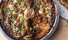 Ottolenghi Spicy Mushroom Lasagne | ITV Saturday Kitchen Joe Wicks, Vegetarian Recipes, Healthy Recipes, Ottolenghi, Fries, Spicy, Stuffed Mushrooms, Curry, Pork