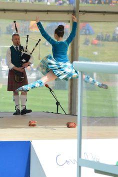 Kilt with blue jacket Erin Blair! Scottish Tartans, Scottish Highlands, Dance Photos, Dance Pictures, Dance Leaps, Celtic Dance, Scottish Highland Dance, Scotland History, Highland Games