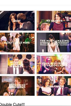 Barney and Robin, How I Met Your Mother <3