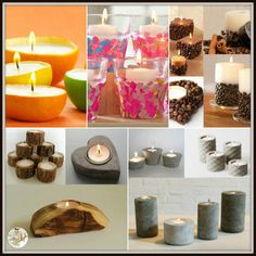 9 Ways To Make DIY Crafty for Lighting Mood A thoughtful decoration of candles just not uplifts the mood but also shine the party place Dollar Tree Centerpieces, Candle Centerpieces, Floating Candles, Diy Candles, Hanging Candles, Pond Wedding, Wedding Ceremony, Unity Ceremony, Wedding Card