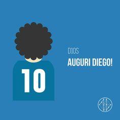 Only the Best are our #inspiration !  Happy #Birthday Diego Maradona! #D10S #MARADONA #CAMPIONI #football
