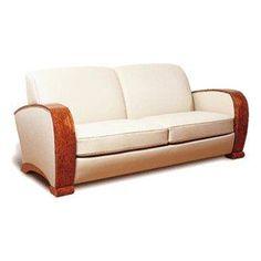 canape deco canap 233 de luxe d 233 co 2 places loupe d orme et cuir d 233 co furniture