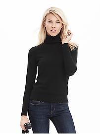 Pima Cotton Cashmere Turtleneck Sweater
