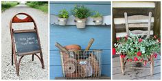 Give old chair legs and chair backs new life around your home with these smart upcycling ideas.