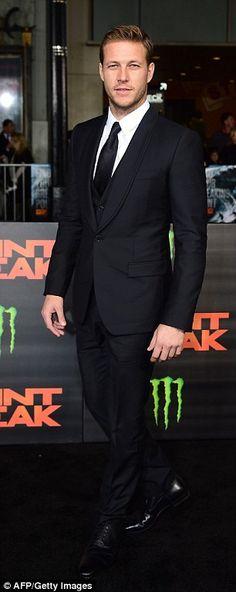 Teresa Palmer rocks slinky grey dress at Point Break premiere
