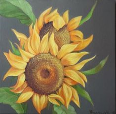 Check out this item in my Etsy shop https://www.etsy.com/listing/593756002/oil-painting-on-canvas-sunflowers-bright