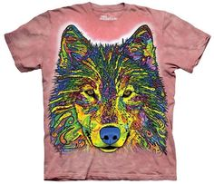 Wolf T-Shirt | Russo Wolf Adult Large