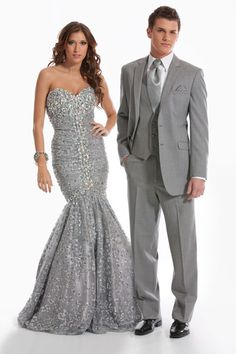 Best Men Silver Sequin Slim Fit Dress Suits Tuxedo Wedding Prom ...