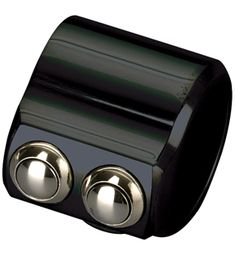 hand controls super-smooth switch clamp 2-button black