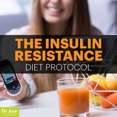 Insulin resistance diet - Dr. Axe http://www.draxe.com #health #holistic #natural