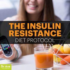 Insulin resistance diet - Dr. Axe http://www.draxe.com #health #holistic #natural