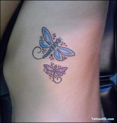 butterfly dragonfly tattoo pictures