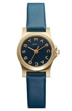 Love this unique color! MARC BY MARC JACOBS Leather Watch