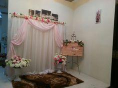 Diy Backdrop, Ceremony Backdrop, Backdrops, Engagement Party Decorations, Birthday Decorations, Wedding Goals, Dream Wedding, Pelamin Simple, Prom Decor