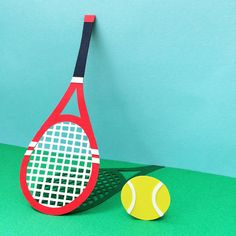 Tennis Racket- Isobel Barber- Paper Engineer