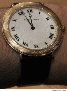 Ralph Lauren | ralph lauren classic slim watch here is an interesting new