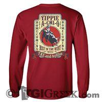 TGI Greek Tshirts - Alpha Chi Omega - Yippie A Chi O #tgigreek  #comfortcolors #dateparties #alphachiomegadesigns