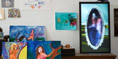 Electric Objects: A Screen for Bringing the Web's Most Beautiful Artworks Into Your Home