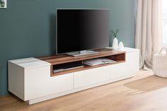 banking landelijk - Lilly is Love Tv Unit Interior Design, Tv Wall Design, Tv Storage, Modern Tv, Home Tv, Home Room Design, Tv Cabinets, House Rooms, Floating Nightstand