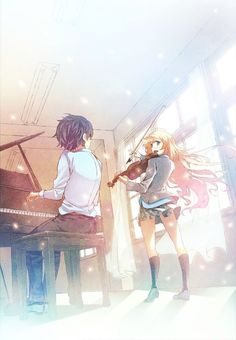 Anime shoujo recomendadisimo: shigatsu wa kimi no uso // your lie in april // tu mentira en abril